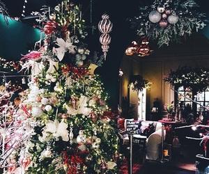 christmas, interior, and x-mas image