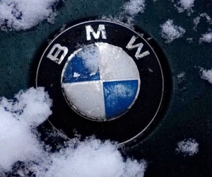 bmw and winter image