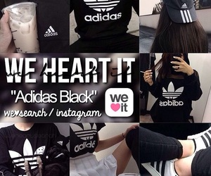 adidas and black image