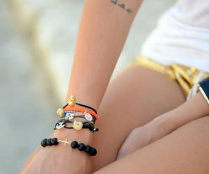 accesories, bracelet, and tattoo image