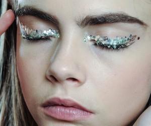 model, cara delevingne, and makeup image