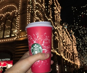 moscow, russia, and starbucks image