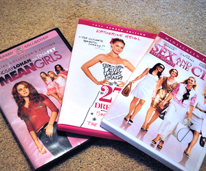 mean girls, movies, and sex and the city image