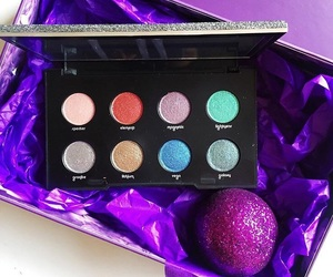 colors, electric, and eye shadows image