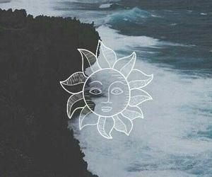 sun, wallpaper, and sea image