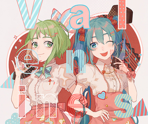 vocaloid, anime, and anime girl image