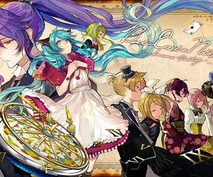 vocaloid, art, and kaito image