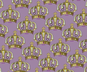 background, crown, and iphone image