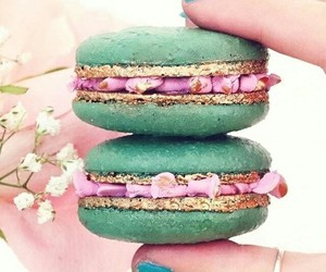 sweet, beautiful, and macaroons image