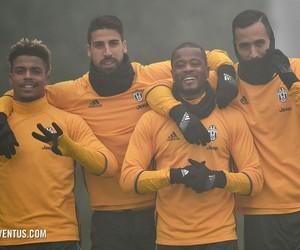 sami khedira, medhi benatia, and Juventus image