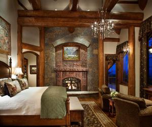 bed, bedroom, and colorado image