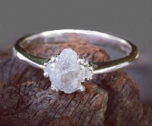 ring, white, and jwelery image