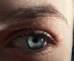 beautiful, indie, and blue eye image