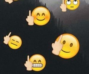 fuck, lol, and emoji image