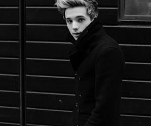 b&w, black and white, and british boy image