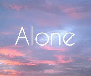alone, blue, and cool image
