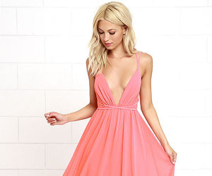 dress, party dress, and maxi dress image