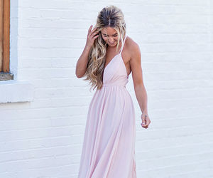 dress, maxi dress, and party dress image
