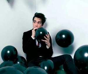 panic! at the disco, brendon urie, and band image