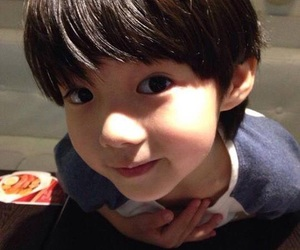 little luhan, cute, and baby image