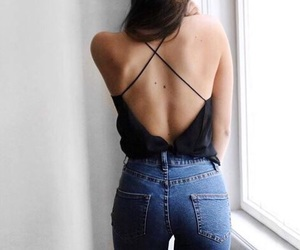 black, camisole, and look image