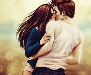 love, kiss, and twilight image