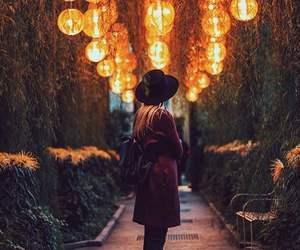 girl, light, and fashion image