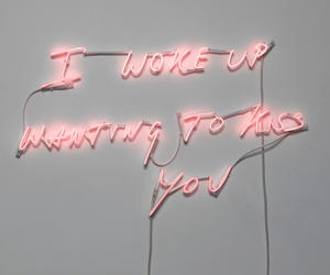 kiss, quotes, and neon image