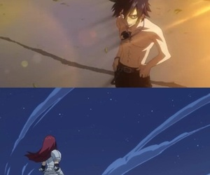 fairy tail, lucy heartfilia, and gray fullbuster image