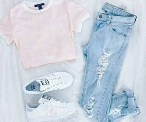 adidas, outfit, and ropa image