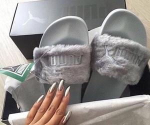 puma, shoes, and nails image