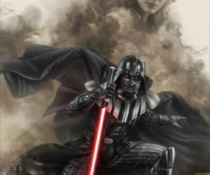 Anakin Skywalker, dark side, and padmé image