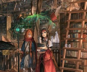 books, draw, and imagination image