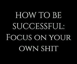 quotes, focus, and success image