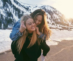 bff, girl, and happy image
