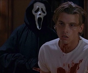 scream, movie, and blood image