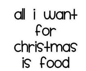christmas, good, and food image