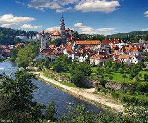 bohemia, village, and republica checa image