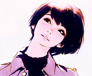 330 Images About Anime Girl Short Hair On We Heart It See More