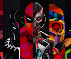 batman, thor, and black panther image