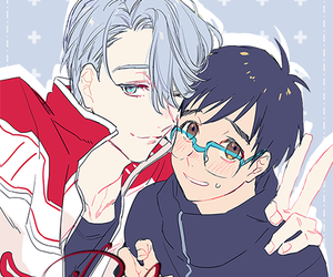 yuri on ice and victuuri image