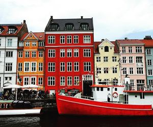 red, Scandinavian, and travel image