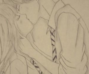drawing, kou, and ao haru ride image