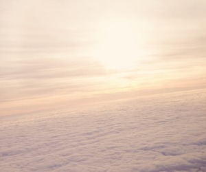 cloud, fly, and sky image