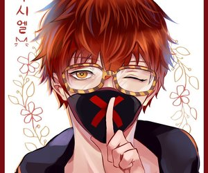 seven, mystic messenger, and 707 image