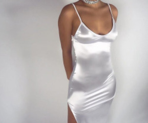 fashion, white, and dress image