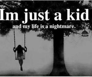 nightmare, kids, and life image