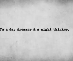night, day dreamer, and thinker image