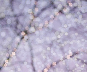 christmas, fairy lights, and pastel image