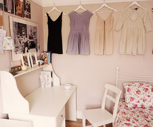 dresses, room, and white image